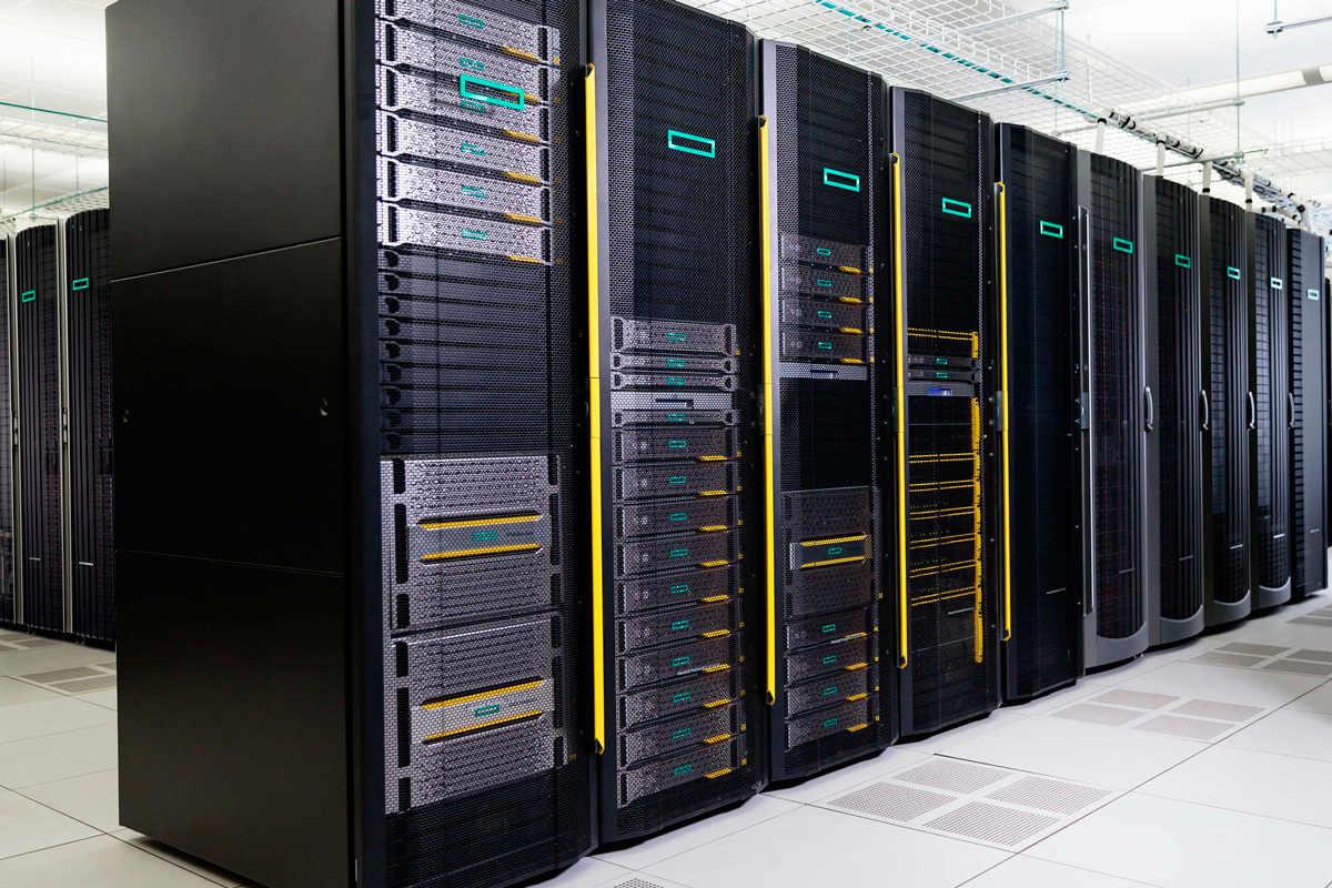 Cuales son las caracteristicas de los servidores hp