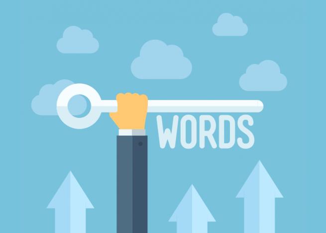 criterios para elegir las palabras clave