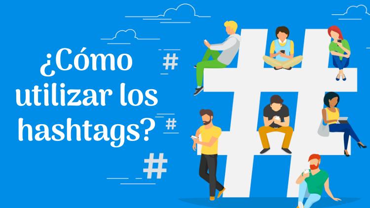 utilizar hashtags para redes sociales